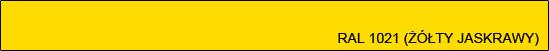 RAL 1021 (żółty jaskrawy)