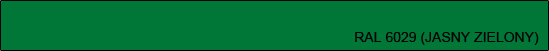 RAL 6029 (jasny zielony)