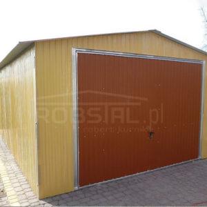 Garaże blaszane akrylowe